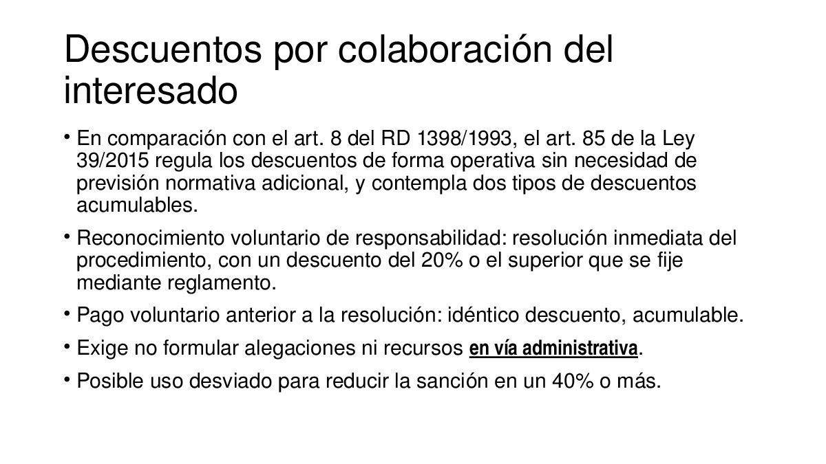 A potestade sancionadora da Administración na nova lexislación de réxime xurídico do sector público e do procedemento administrativo común